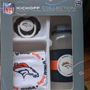 NFL Denver broncos baby items